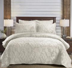 غطاء سرير مزدوج 3 قطع