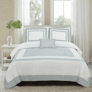 hotel-blue-غطاء-سرير-قطن-100-مزدوج-4-قطع